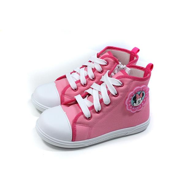 Disney Minnie Mouse 迪士尼 米妮 休閒鞋 拉鍊 中童 童鞋 桃紅色 D120422 no027