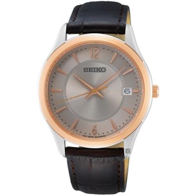 SEIKO精工 CS 城市簡約手錶(SUR422P1/6N52-00D0H)-39mm