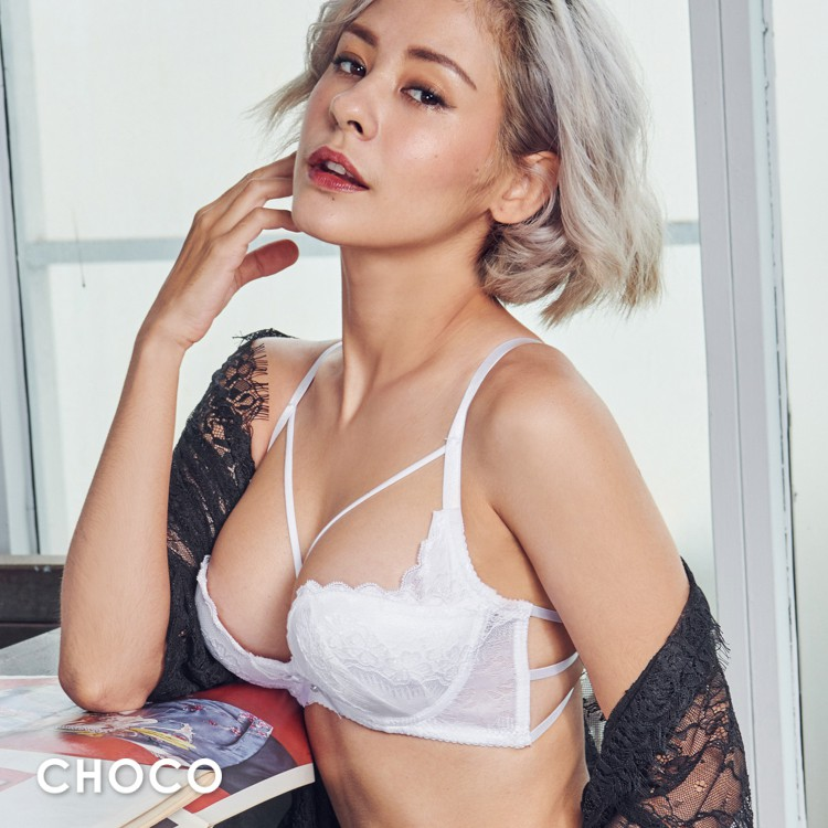 Choco Shop 美麗心計 W鋼圈雙拉提托高爆乳內衣(白色) 70B-85D
