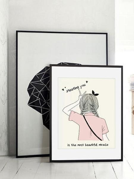 相框畫框實木掛墻十字繡拼圖框1000片個性創意【古怪舍】