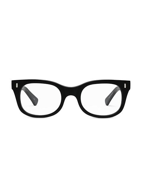 Bixby 49MM Square Blue Light Optical Glasses