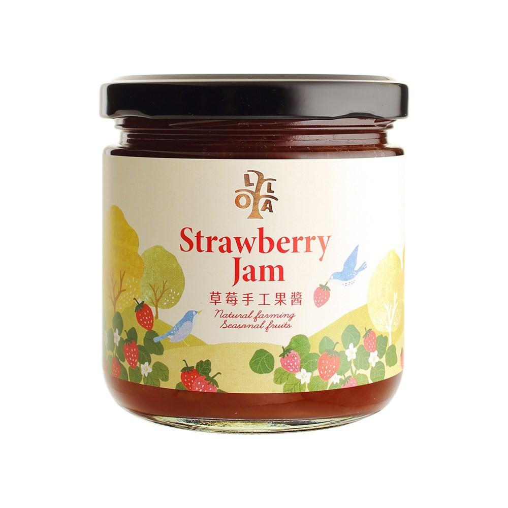 LOLA草莓手工果醬250g