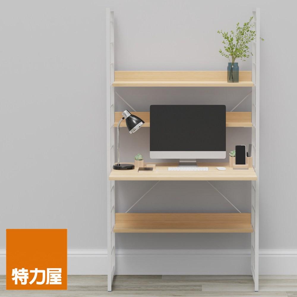 組 - 特力屋萊特 組合式層架 淺木紋色 84x60x158cm