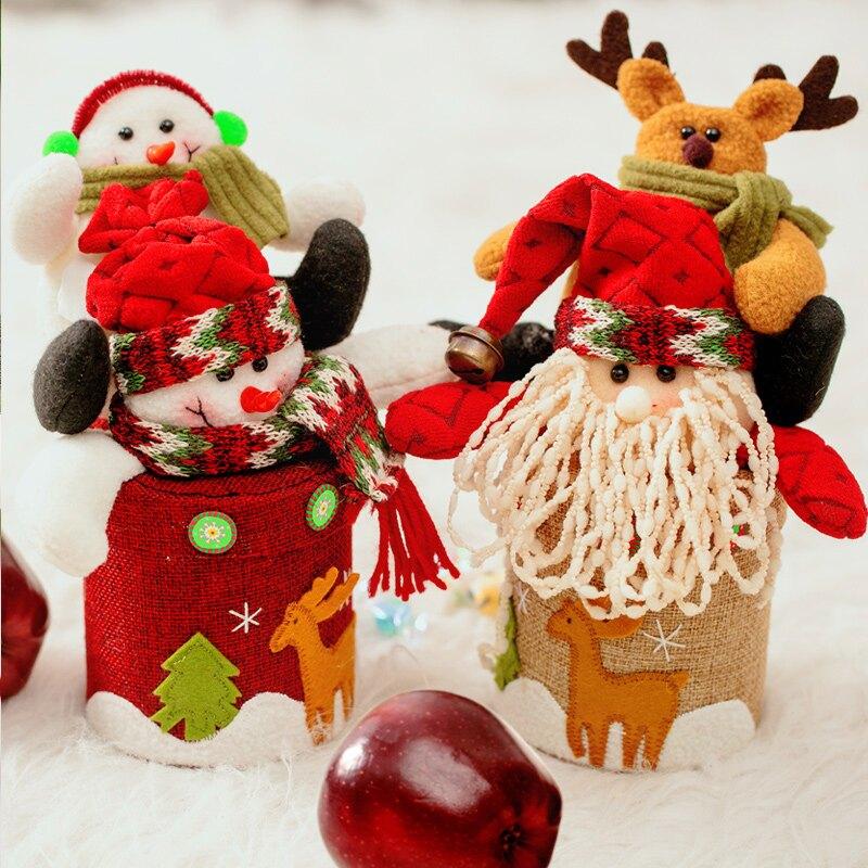 平安果包裝盒平安夜蘋果盒圣誕糖果盒禮品盒圣誕節禮物盒高檔創意1入
