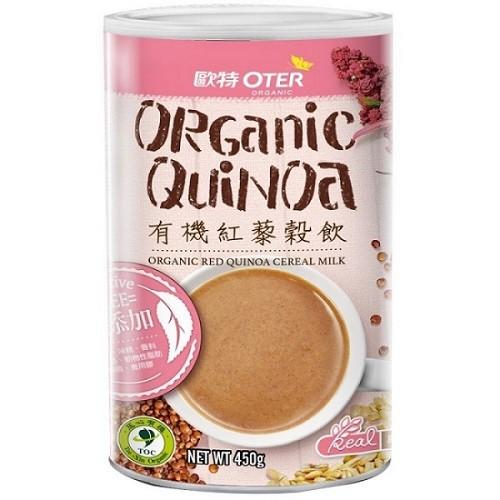 歐特 有機紅藜穀飲 450g/罐 (買1送1)