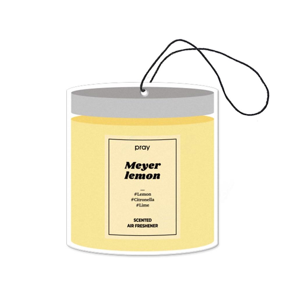 Pray 吊掛香氛片系列-梅爾黃檸檬