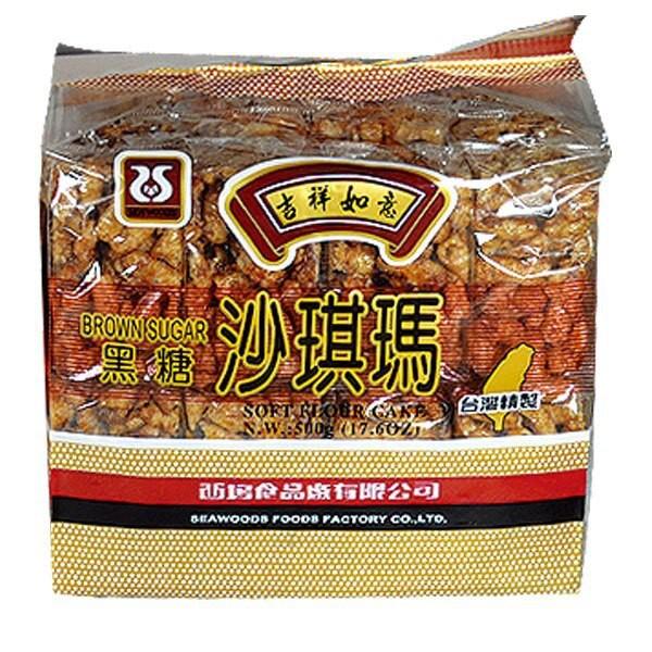 西塢 黑糖 沙琪瑪 500g【康鄰超市】