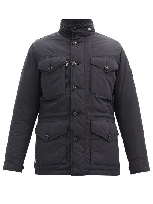 Ralph Lauren Purple Label - Stowaway-hood Recycled-polyester Down Field Jacket - Mens - Black