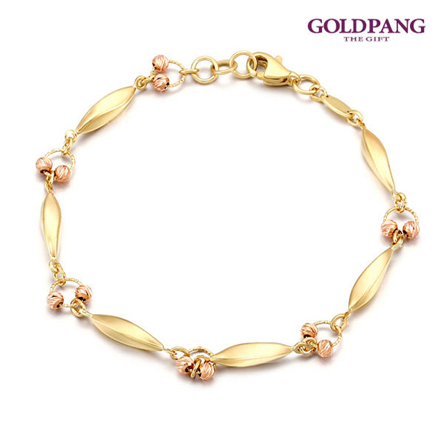 [Gold Pang] 14k 法式時尚手鍊
