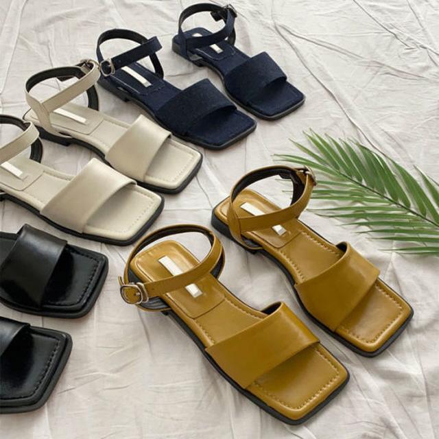 女士皮鞋 夏季涼鞋-c1783_DS