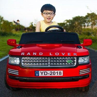 兒童電動車 超大越野雙座 兒童電動車四輪遙控汽車兩人雙人兒童玩具可坐大人