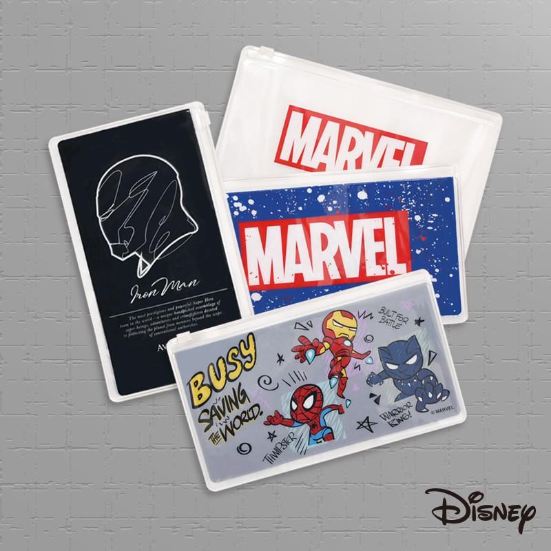 Marvel 漫威|萬用夾鏈收納袋【CA513】復仇者聯盟 鋼鐵人 蜘蛛人 黑豹 口罩夾|Disney迪士尼 文具旗艦店