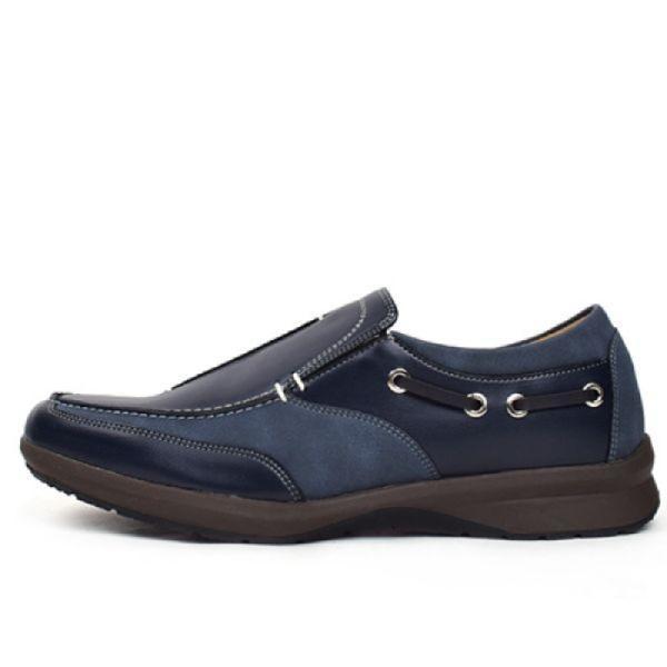 [顏色:海軍藍 | 尺碼:250] H1 KB Yang Banula(DM) 男士懶漢鞋 輕便鞋 男士單鞋 男士休閒鞋 男士休閒鞋 男士懶漢鞋