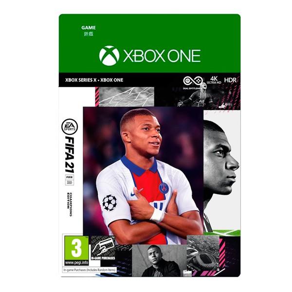 XBOX FIFA 21 冠軍版 / 中文版 / 數位下載版