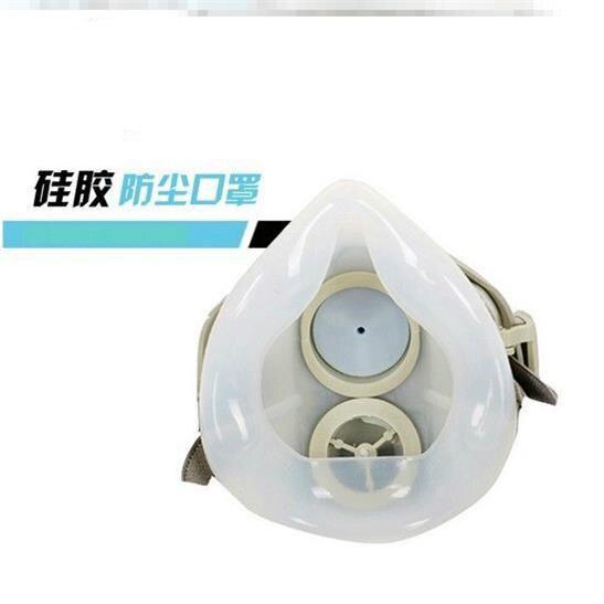 工業粉塵打磨透氣面罩電焊口罩煤礦噴漆防塵防灰塵遮臉口罩勞1入