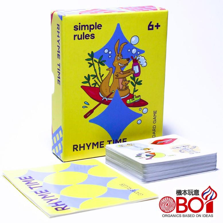 SIMPLE RULES - [新品]韻腳對對-6歲以上