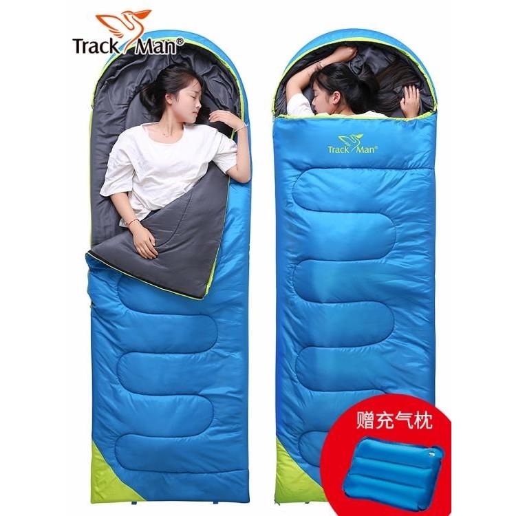 【雙十二8折秒殺新品新貨】睡袋睡袋成人戶外睡袋大人室內隔臟男女睡袋秋冬季加厚露營單雙人睡袋