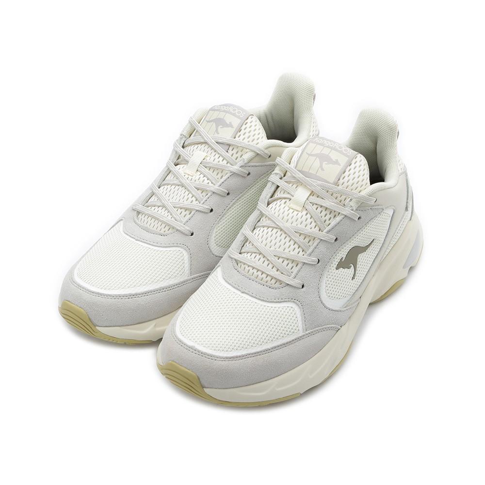 KANGAROOS 袋鼠 SMOOTHY 復古老爹鞋 米灰 KM01058 男鞋