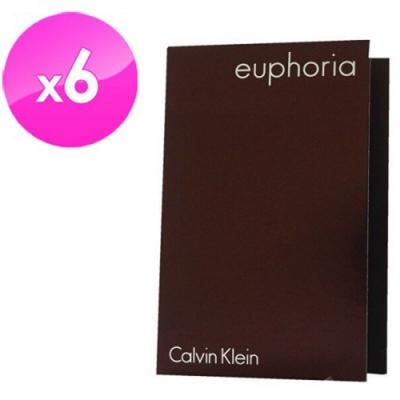 Calvin Klein 誘惑女性淡香精針管 1.2ml(6入組)
