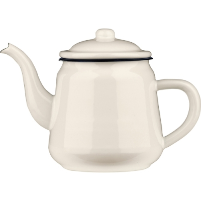 《Premier》琺瑯茶壺(藍900ml)