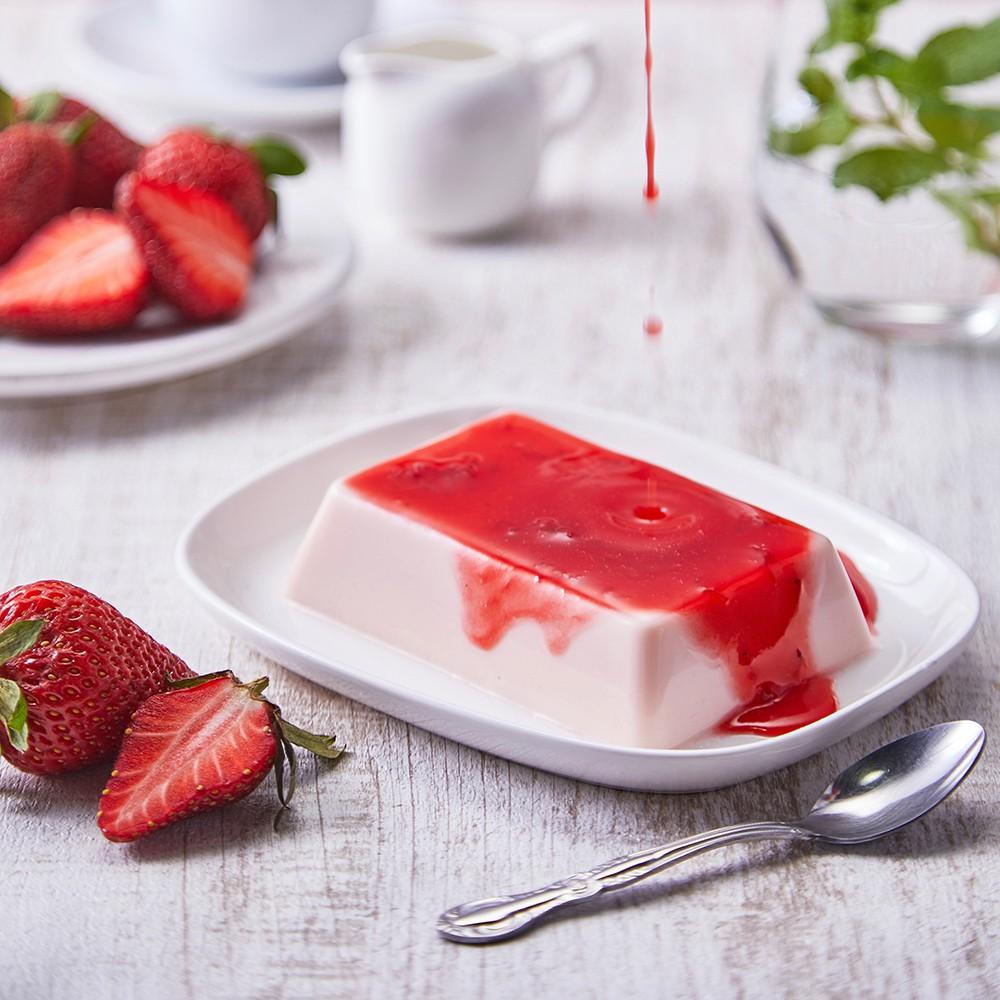【紅磚布丁】冬季限定|草莓布丁禮盒10入