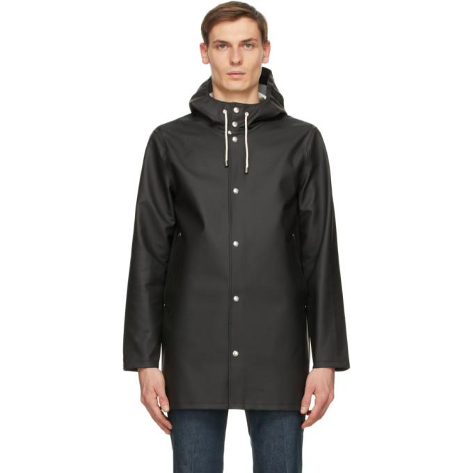 Stutterheim 黑色 Stockholm 雨衣