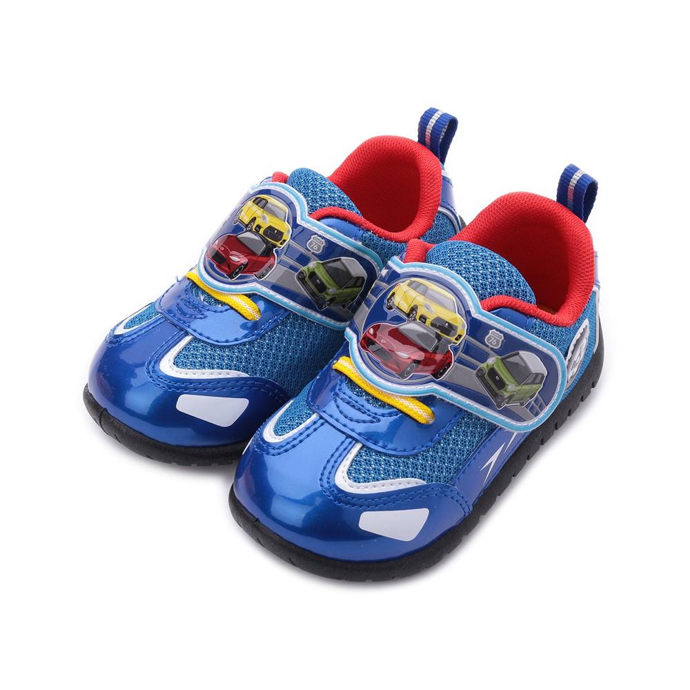 TOMICA 汽車寶寶鞋 藍 TM7790 中小童鞋