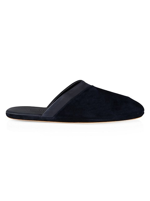 Suede Slippers