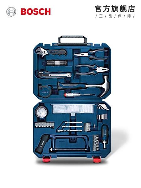 五金套裝 多功能家用維修五金工具套裝收納盒木工工具箱工具盒108件套 WJ百分百
