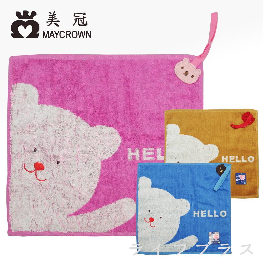 卡哇伊擦手巾-哈囉小熊-7221-2入