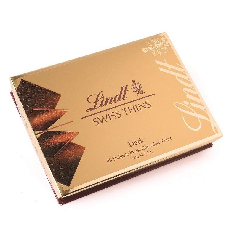 瑞士蓮經典薄片純味巧克力125g
