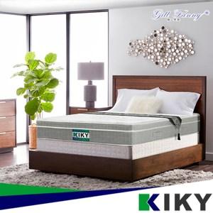 【KIKY】姬梵妮 銀河之夜竹炭消臭硬式彈簧床墊(單人3尺)