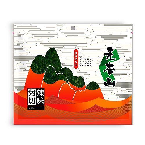 元本山味付對切辣味海苔33.8g【愛買】