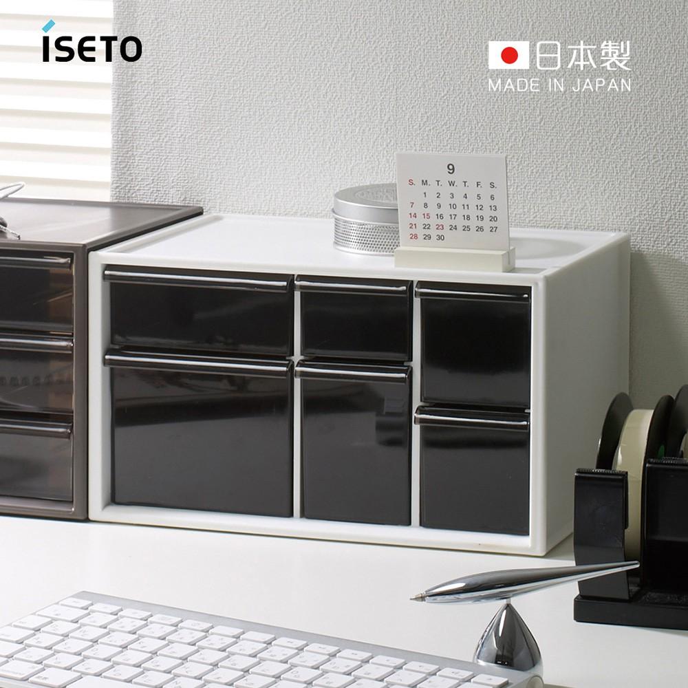 【日本ISETO】日製桌上分類抽屜收納盒-L