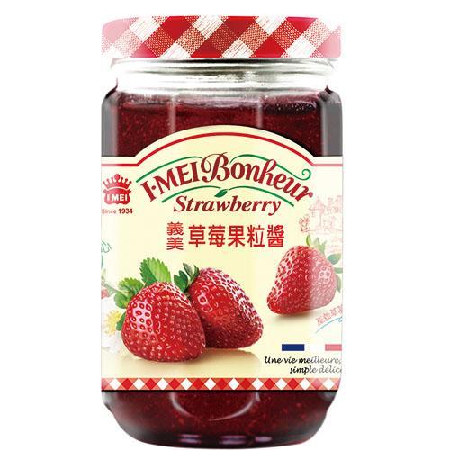 義美草莓果粒醬300g【愛買】