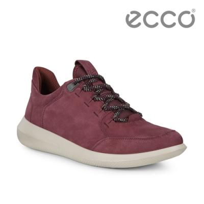 ECCO SCINAPSE W 簡約舒適健步運動休閒鞋 女鞋 深酒红