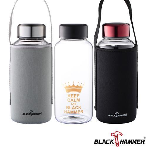 BlackHammer 亨利耐熱玻璃杯(1050ml)【愛買】