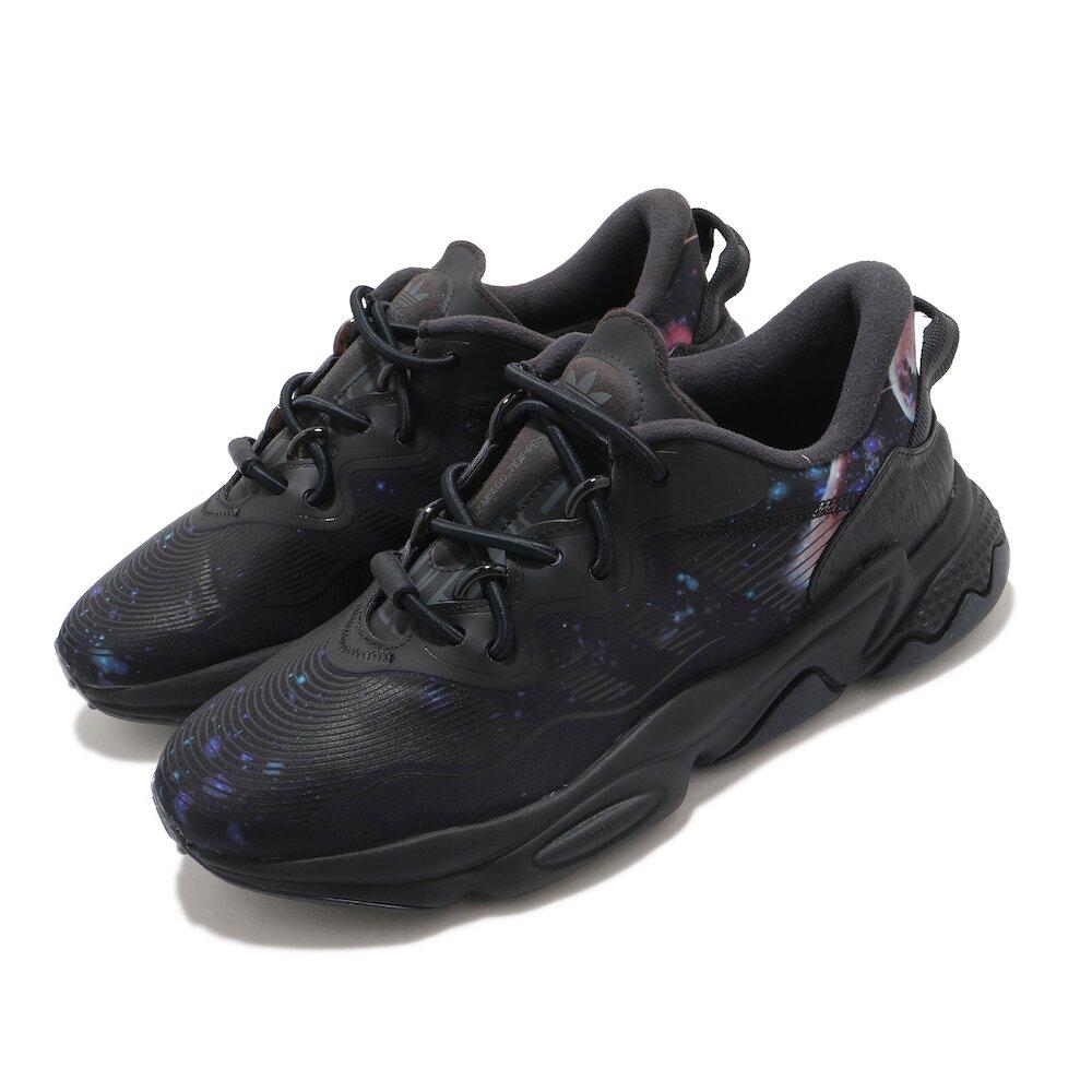 ADIDAS 休閒鞋 Ozweego OZWG 男鞋 愛迪達 星空 宇宙 老爹鞋 穿搭 黑 藍 [GZ8405]