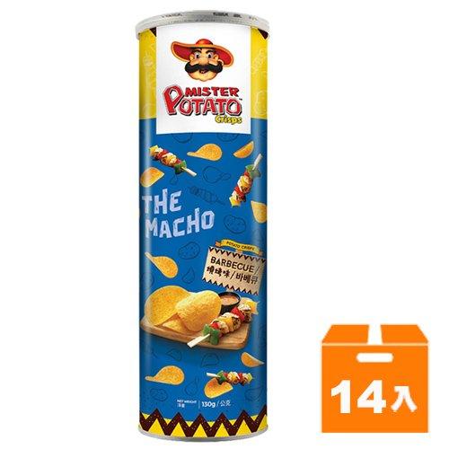 薯片先生-燒烤味130g(14入)/箱