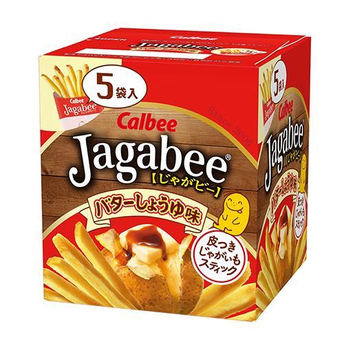 Calbee加卡比薯條-醬油奶油味80g【愛買】
