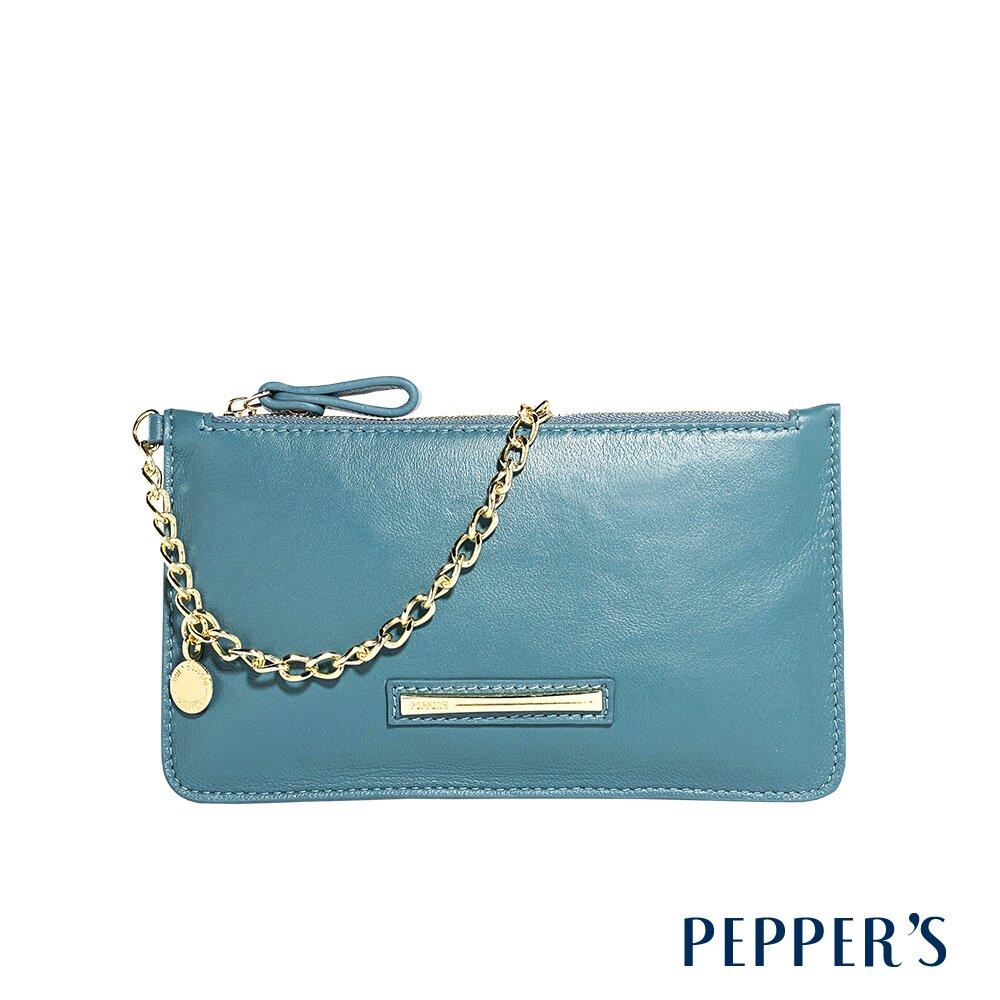 PEPPER'S Olivia 羊皮手機包 - 土耳其藍