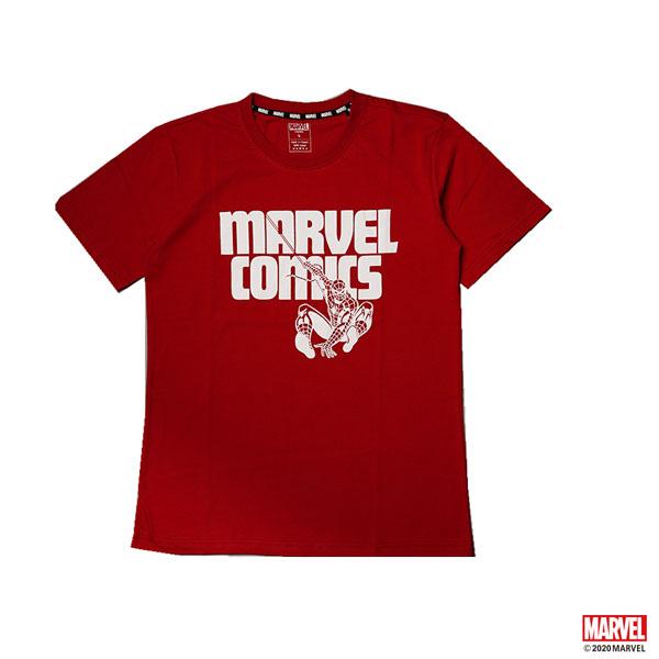 MARVEL COMIC蜘蛛人短袖T恤-紅色