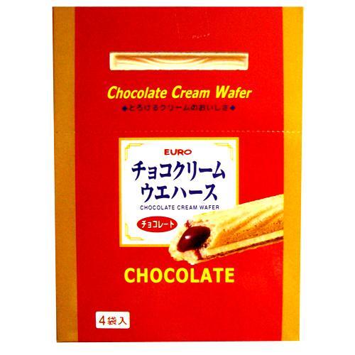 EURO巧克力威化棒100g【愛買】