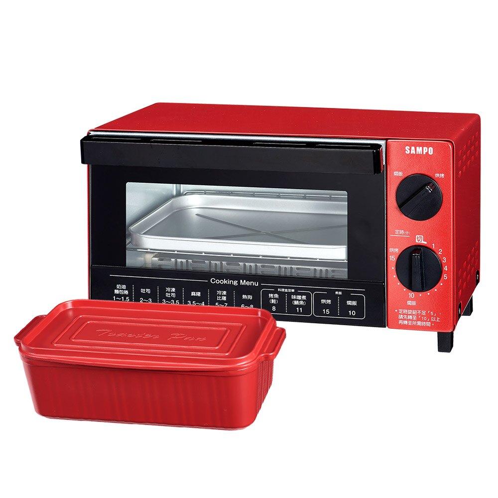 (展示品)SAMPO聲寶 10L多功能魔法烘焙烤箱 KZ-SA10