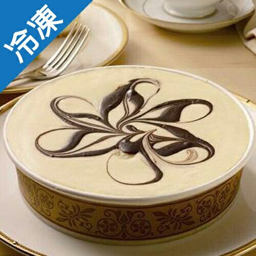 【淡雅風味】6吋原味重乳酪蛋糕/盒【愛買冷凍】