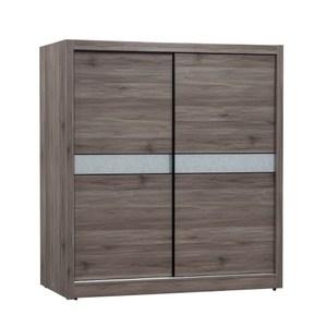 【MUNA 家居】曼特寧6X7尺衣櫥/衣櫃(共兩色)(不含內鏡)灰橡色