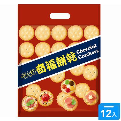 掬水軒奇福餅乾量販包320g*12【愛買】