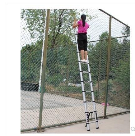 伸縮梯子人字梯家用摺疊梯鋁合金加厚多功能梯升降樓梯工程梯便攜 DF