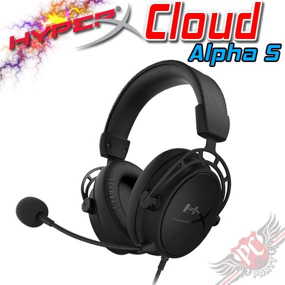 Hyper X Cloud Alpha S 電競耳機 黑 PC PARTY