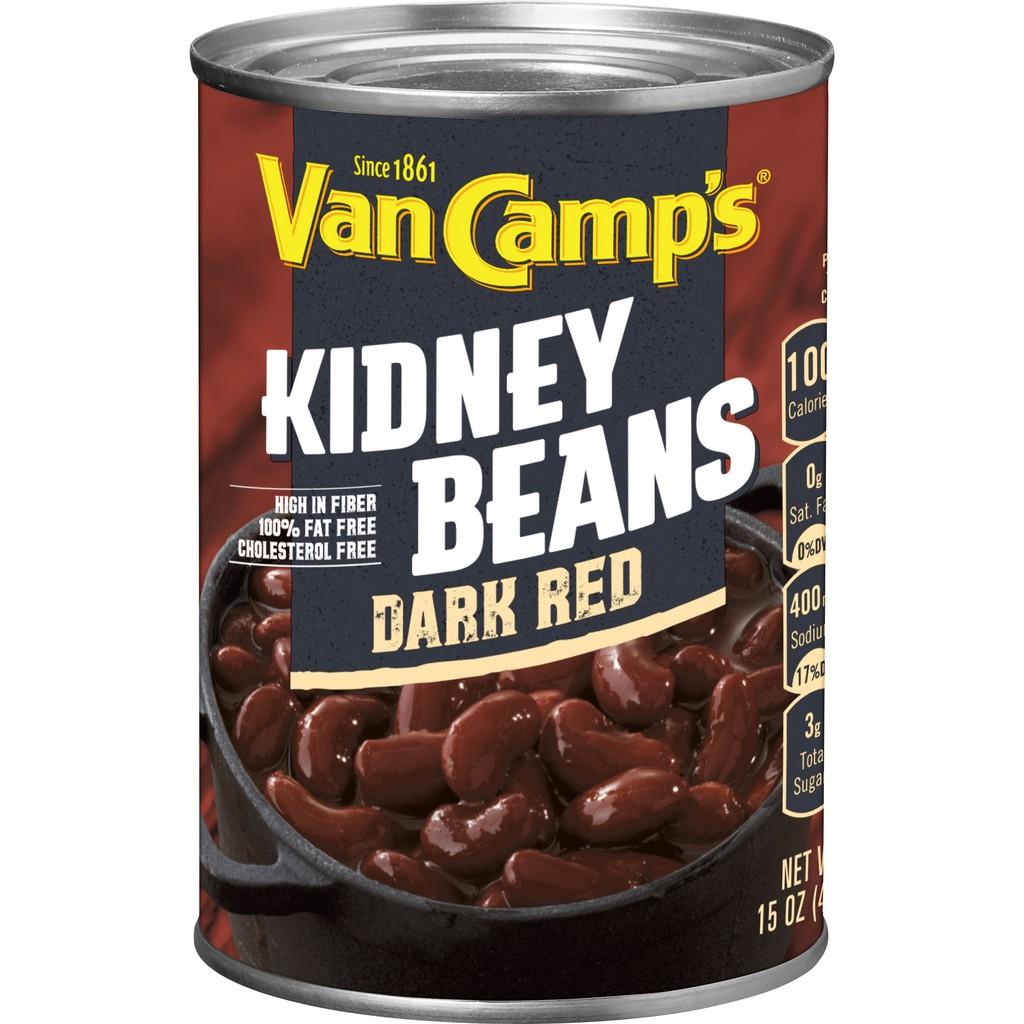 Van Camp s 紅腰子豆 腰豆 沙拉拌炒 罐頭 425g 【Sunny Buy】